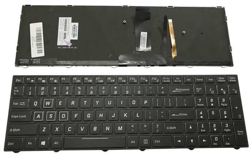 CLEVO 藍天 P671RS-G P655HP3-G P650HP3 P670HS-G P670HP6-G鍵盤