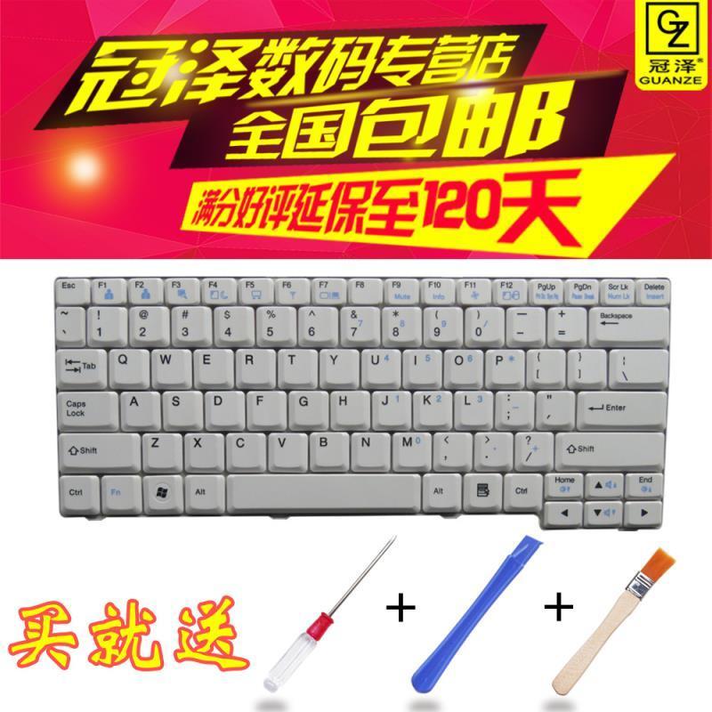 冠澤 LG E300 E23 E200 E210 E310 ED310 Z1 R200筆記本鍵盤 白色
