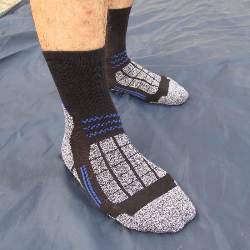 中邦戶外徒步速干排汗襪登山襪遠足襪登山徒步襪子加厚毛巾底05款