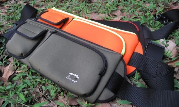 AXEMEN埃斯曼經典旅行貼身錢包跑步腰包手機包手機袋多口袋