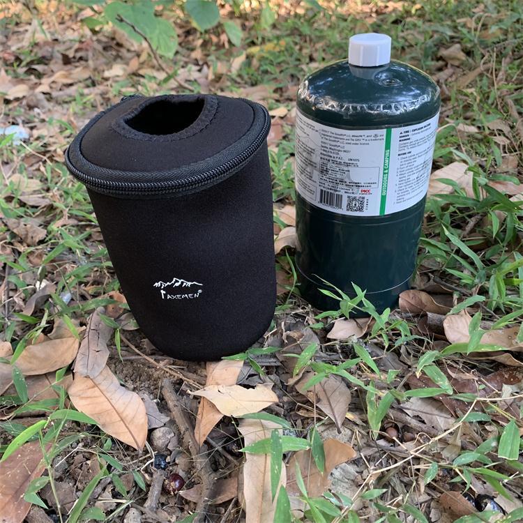 美國固特丙烷氣罐保護套科勒曼453克圓罐保溫套防撞保護袋氣罐