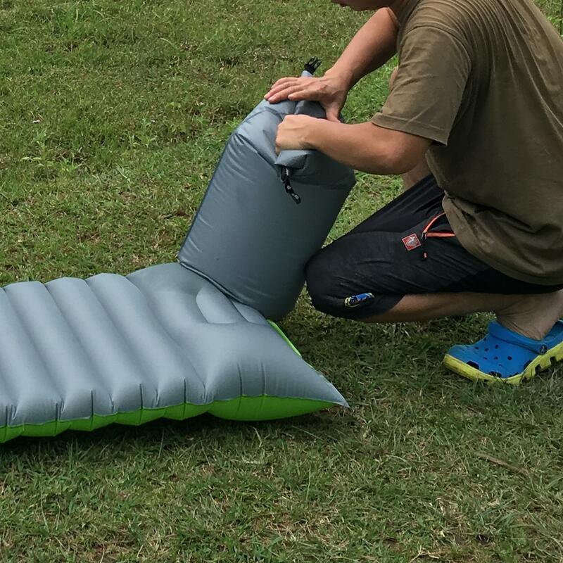 多用途壓縮充氣袋防潮墊充氣墊打氣袋衣物密封袋防水袋充氣袋