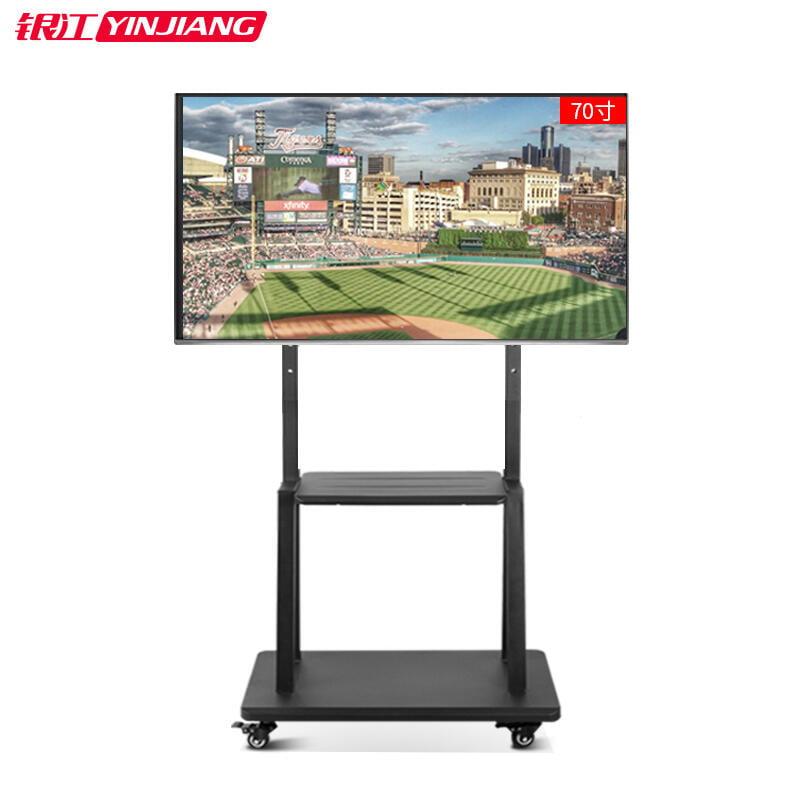 電視機可移動活動支架一體機落地立式推車萬能小米55 65 70寸展會