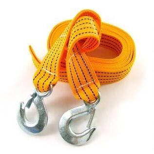 山鷹自駕!拖車繩 3噸負重 強韌耐用 牽引繩 自救繩 3米帶長
