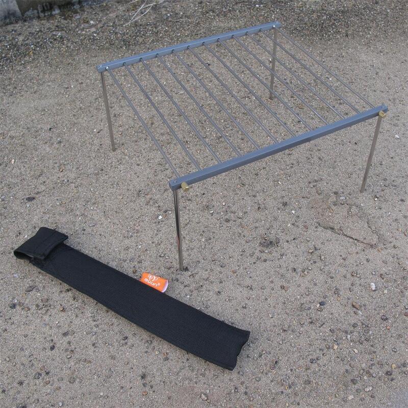 更輕更便攜 步林Bulin BL500-K7野餐簡易燒烤架多用燒烤折疊架子