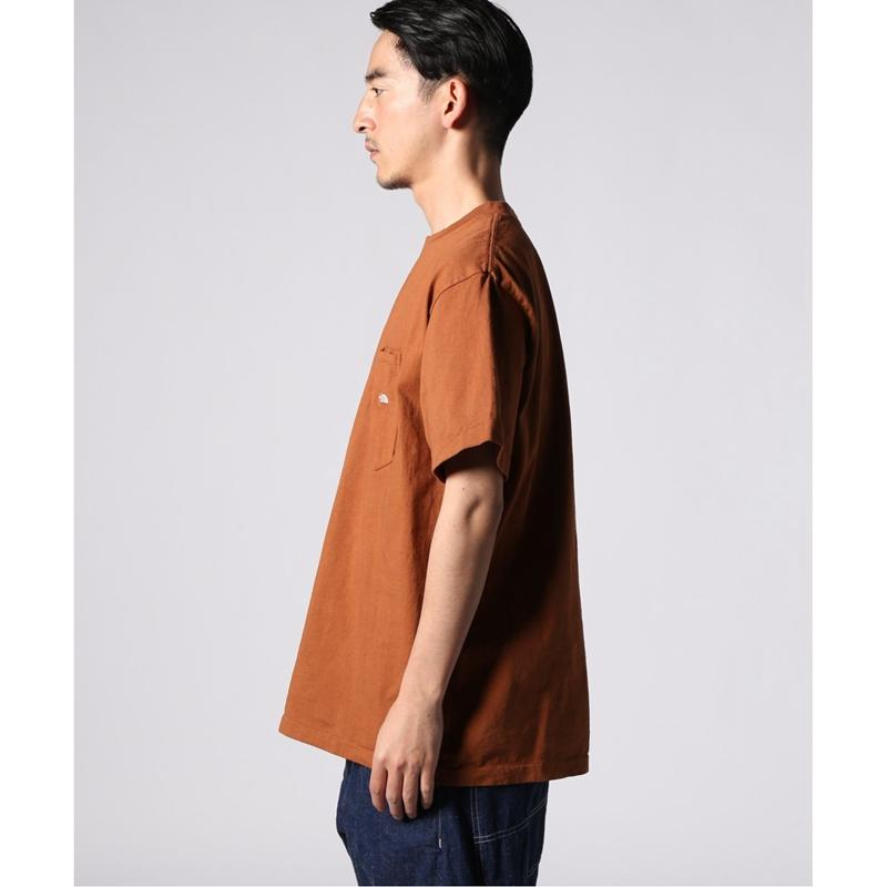 【HK】THE NORTH FACE 紫標 7OZ H/S POCKET TEE 水洗短袖T恤 NT3