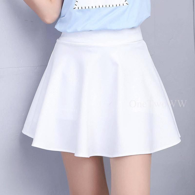 學生2*GS#H半身裙女春夏短裙拉拉隊啦啦操演出跳舞裙彈力蓬蓬裙運動裙褲