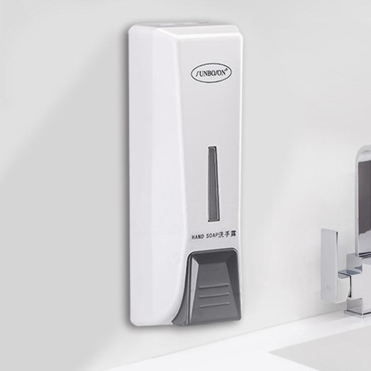 可開立發票給皂機賓館按壓式洗手液器瓶子皂液器盒子壁掛式酒店沐浴露機家用免打孔--好印象