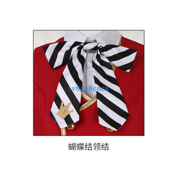 迪士尼扭曲仙境愛麗絲Deuce校服全員通用 領結 領帶 cos服裝專用