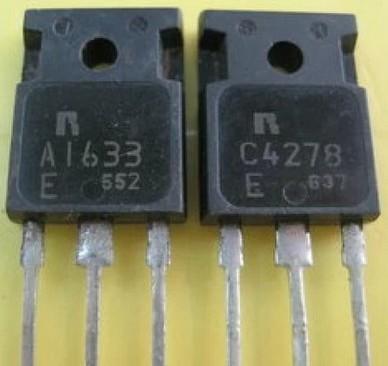 [二手拆機][含稅]音響配對管 A1633 C4278 2SA1633 2SC4278 1對