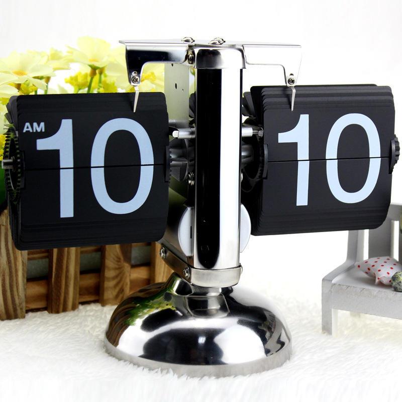 「自己有用才代購」翻頁鐘 翻頁時鐘 掛鐘 吊鐘 計時器 座鐘