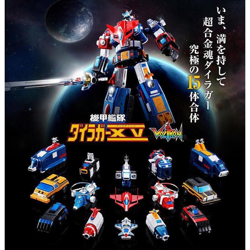 【日版初版】BANDAI 超合金魂 GX-88 機甲艦隊 15機合體 《日本証紙版》