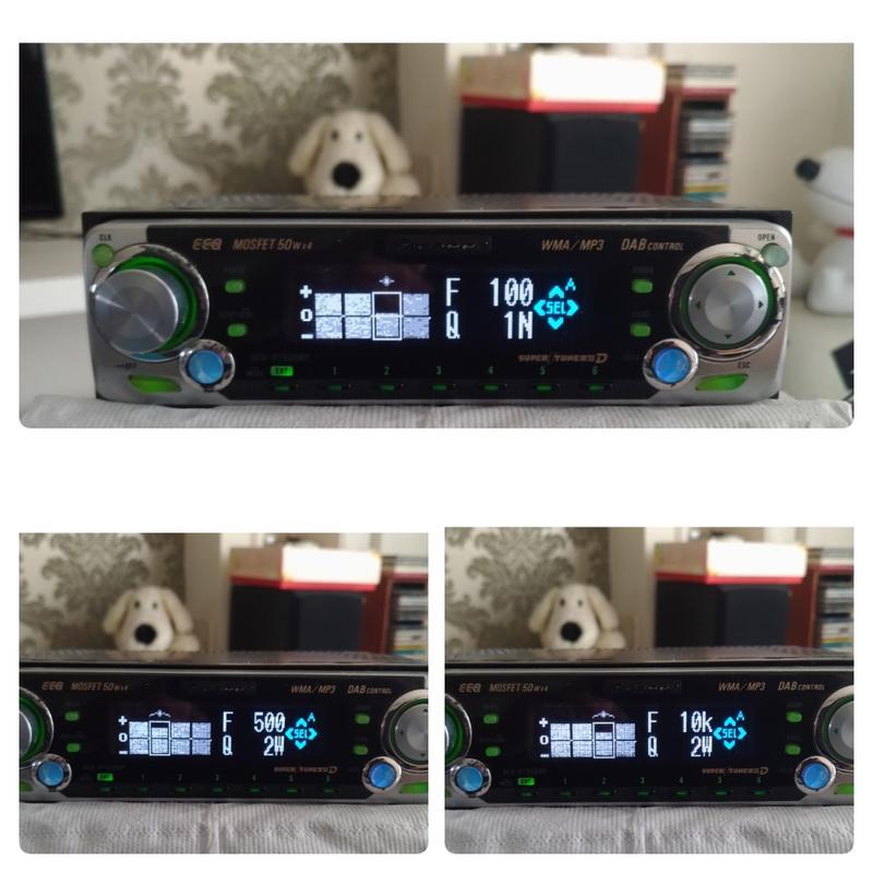 Pioneer DEH P7550mp先鋒高階動畫音響主機 已改裝成藍芽音樂主機