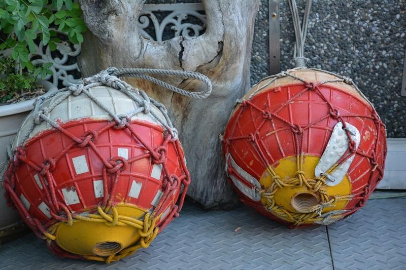 [傑克船長]浮球2-各種拆船貨,船藝品