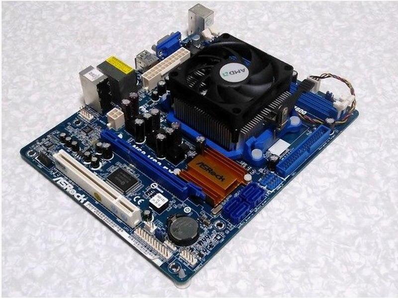 華擎N68-VS3 FX主機板+FX-4100四核心/3.6G/8M處理器、附風扇與擋板【自取優惠價$1250】