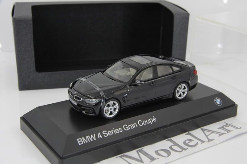 1:43 原廠精品Kyosho BMW 4 Series(F36)420i/428i/435i Gran Coupe黑
