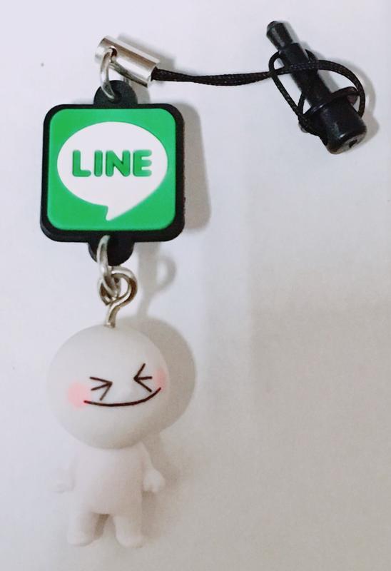 【藏出小屋】現貨 T-ARTS 轉蛋 盒玩 LINE 貼圖人物角色 耳機塞 手機吊飾 兩用 饅頭人 笑臉款 單售 新品