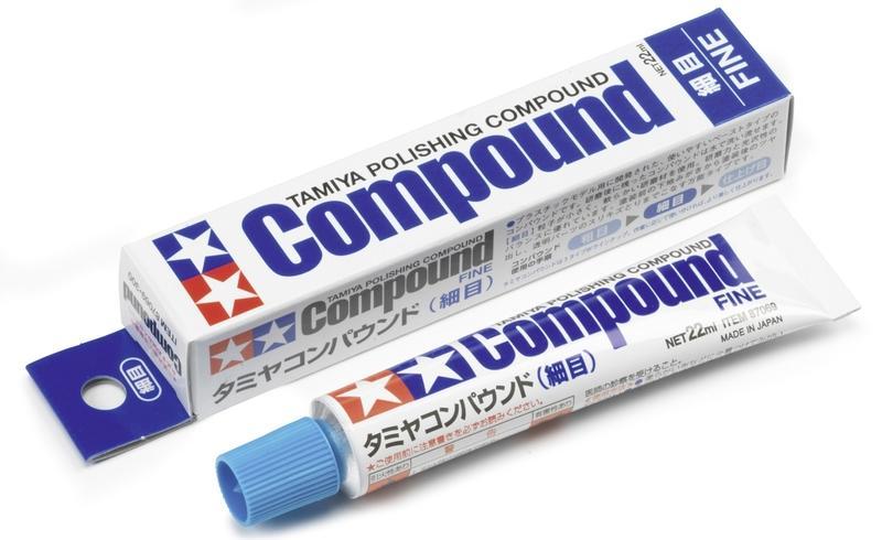 ◆弘德模型◆ 田宮 87069 細目 研磨劑 Compound Fine 研磨膏 拋光用 Tamiya