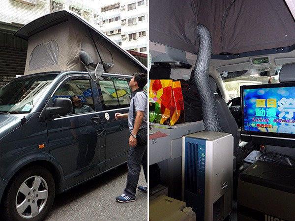 日本移動式冷氣空調適合露營、露營車,適用租屋小空間、營地休旅車使用!