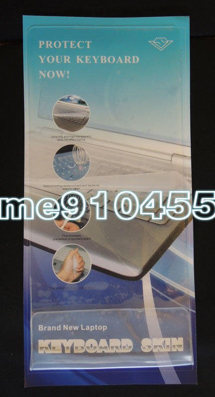 """【全新 15吋 17吋 筆電 萬用 矽膠 通用鍵盤保護膜】15""""~17"""" 筆記型電腦 防水膜 筆電鍵盤膜 保護膜 鍵盤蓋"""