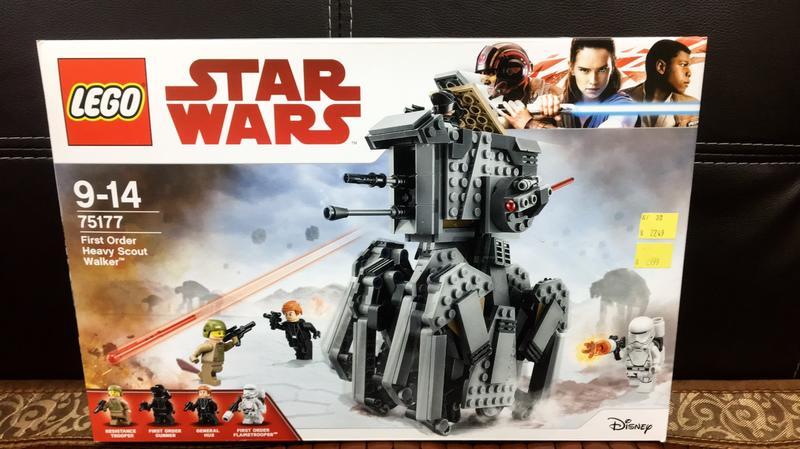 LEGO 75177 星際大戰系列-First Order Heavy Scout Walker