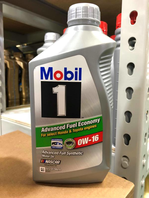 『油工廠』Mobil 1 AFE 0w16 超節能 全合成 機油 油電車 TOYOTA / HONDA HYBRID