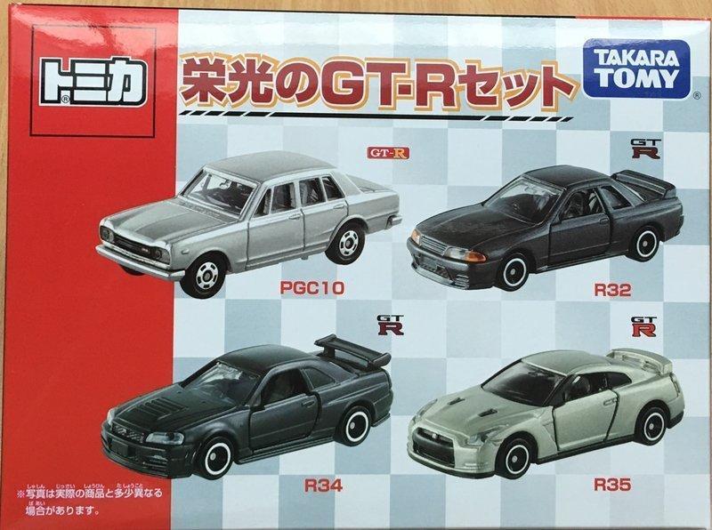 《GTS》TOMICA 多美小汽車 TM盒裝- 榮光的GTR TW83485
