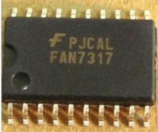 [二手拆機][含稅]拆機二手原裝 FAN7317B 液晶電源晶片 【貼片20腳】