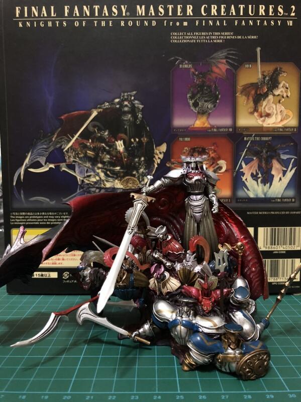太空戰士 Final Fantasy 召喚獸 Master Creatures 圓桌武士