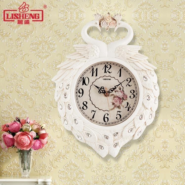 小號掛鐘家用現代鐘表創意迷你座鐘裝飾靜音兩用石英時鐘