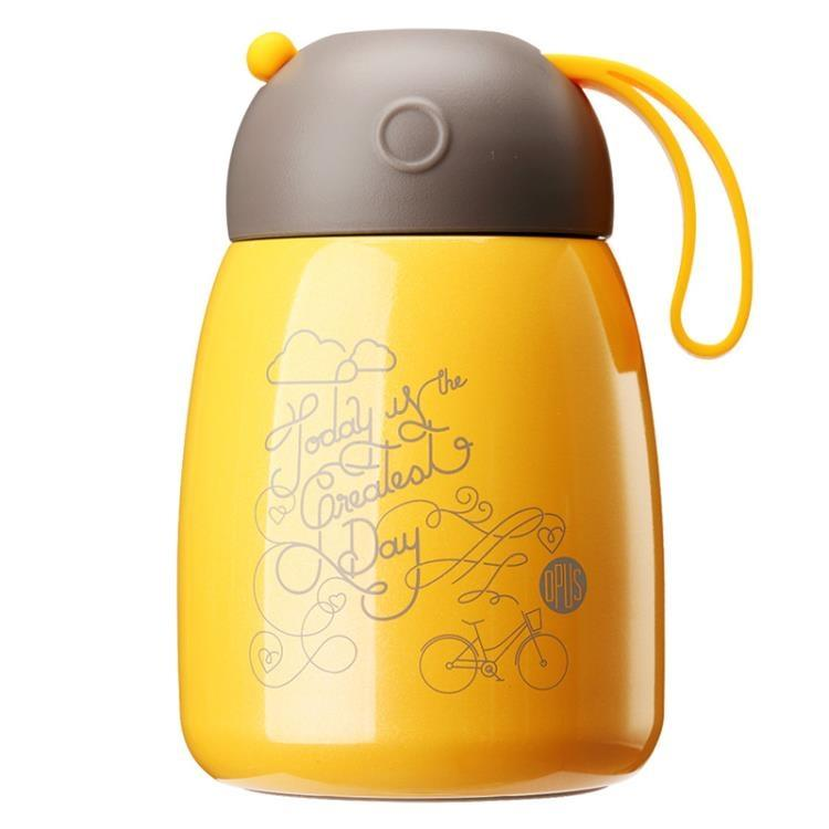 OPUS保溫杯女便攜水杯學生不銹鋼水壺兒童創意杯子迷你可愛大肚杯【潮咖地帶】