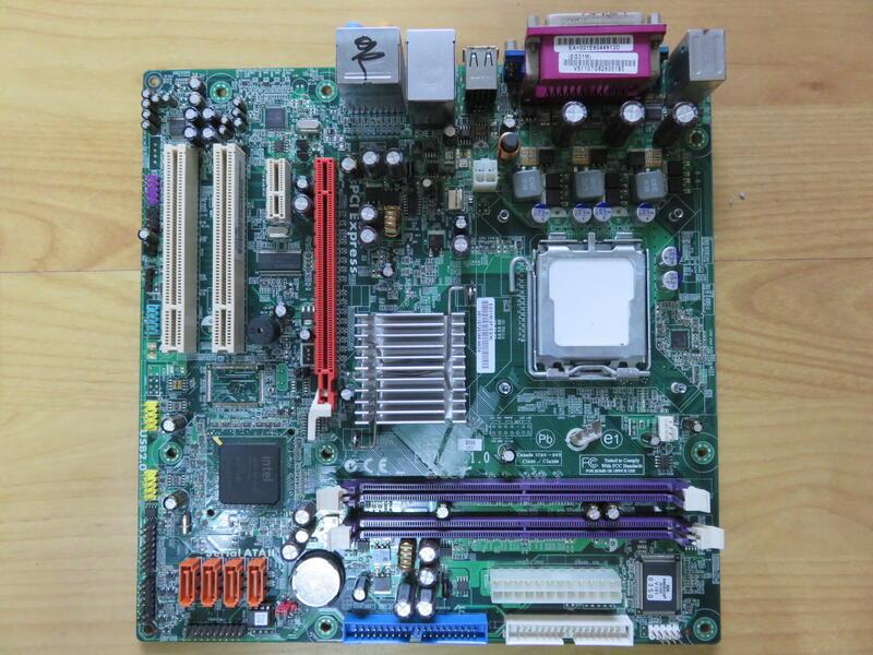 A.P5/S775主機板-ACER M460(EG31M V.1.0)DDR2雙通道 /PCI-E/SATA直購價300