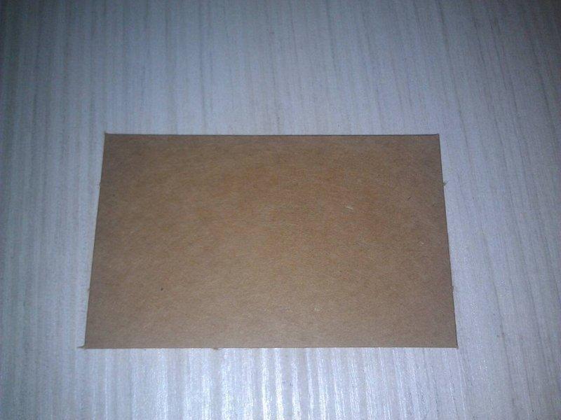 E-8024素材-牛皮紙卡9.2x5.7公分-5張1元(一張只要0.2元)