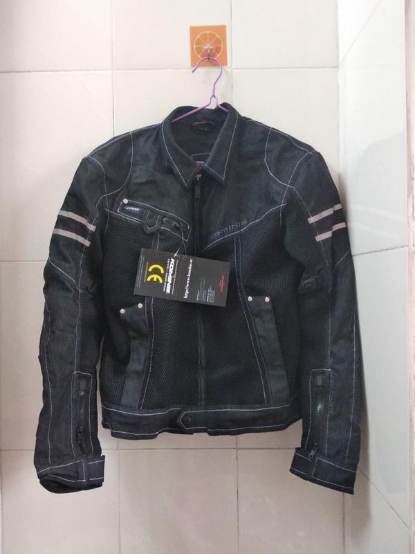 【購物百分百】K牌牛仔網眼 機車衣 防摔衣 騎士機車服 重機越野服 重機外套摩托車服 懂貨的來