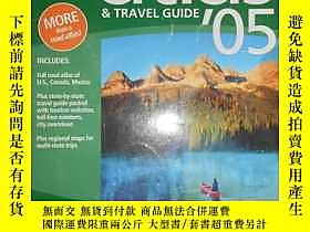 古文物the罕見road Atlas & Travel Guide:united states.canada.mexic