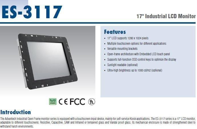 Advantech ES-3117R Driver Windows