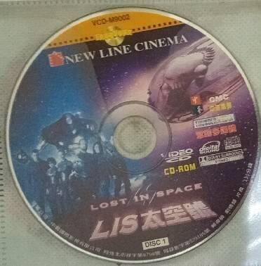 袋裝影片-LIS太空號(二手正版VCD)