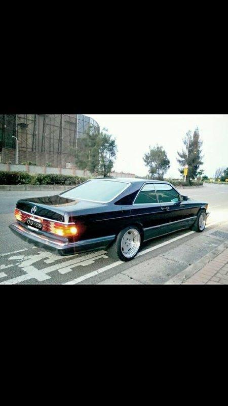 售 : 賓士  560 SEC (W126 W124 CE w140 SLK 骨董車 經典 老車 世界名車 可參考)