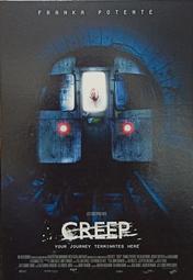 C電影酷卡明信片 噬血地鐵站 Creep 法蘭卡波坦