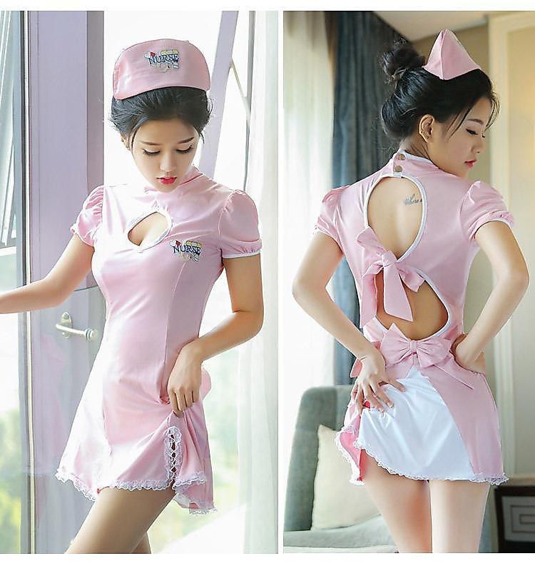 性感內衣 情趣制服性感成人露乳大碼護士套裝制服誘惑女連衣裙