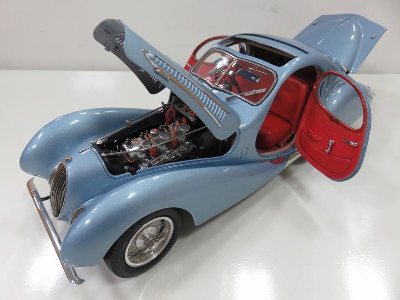 宗鑫貿易 CMC M145 Talbot Lago Coupe T150 C-SS 1937-38 金屬藍色