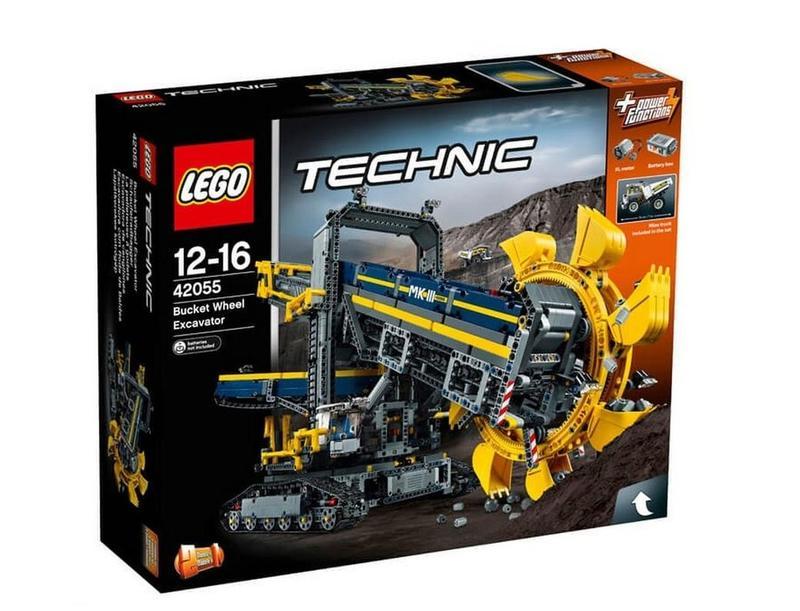 [大石頭] 樂高 LEGO 42055  巨型滾輪挖土機