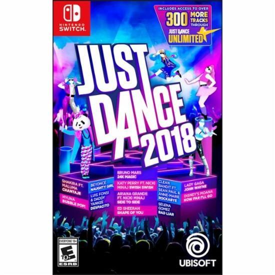 [BoBo Toy] NS Switch 舞力全開 JUST DANCE 2018 英文版