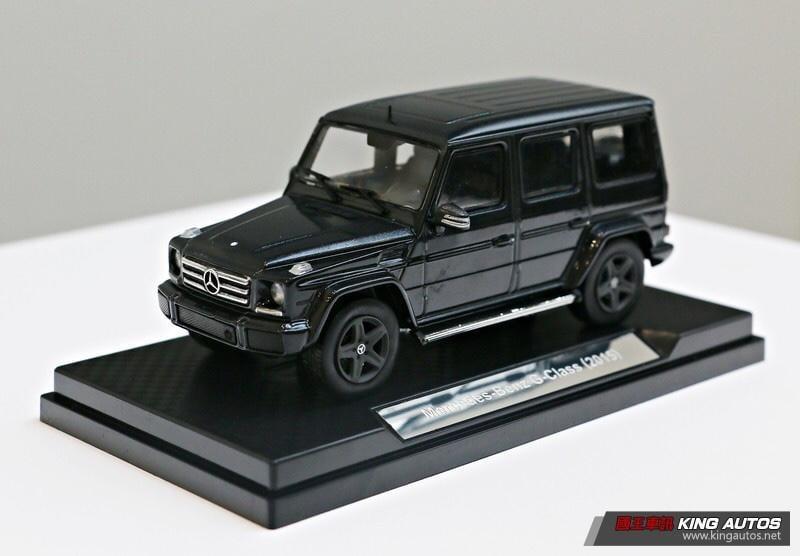 【阿田小鋪】Mercedes-Benz G-Class 2015 (黑)7-11 1:43賓士鋅合金模型車 另有瑪莎拉蒂