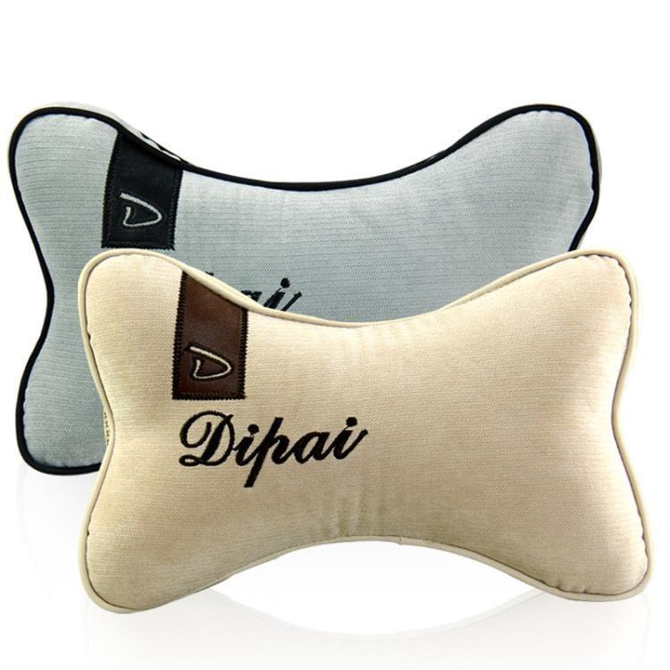 汽車頭枕護頸枕頸椎靠枕記憶棉車枕頭車用頸枕車內車上用品座椅用