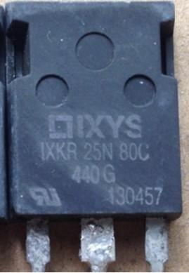 [二手拆機][含稅]原裝拆機 IXKR25N80C 測試拆機好發貨 品質保證