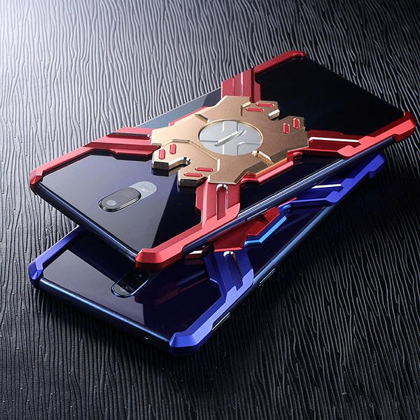 英雄系列金屬手機殼 OPPO R17 / R17 Pro 6.4吋 英雄配色 四角防護支架保護殼「Monster3C
