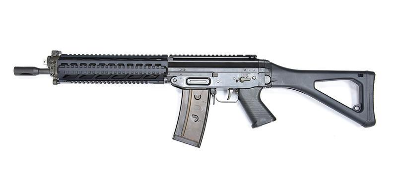 SAMOON沙漠龍 GHK 551 GBBR 戰術魚骨版成槍