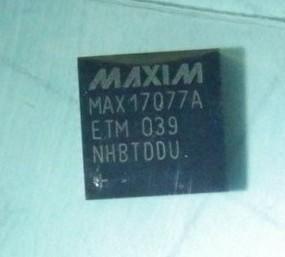 [二手拆機][含稅]拆機二手原裝 MAX17077ETM QFN 液晶屏晶片