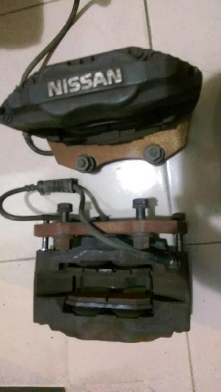正SUMITOMO GTR R32 對四活塞 霹靂馬 NISSAN 日產931 P10 卡鉗 碟盤 金屬油管 卡鉗轉接座